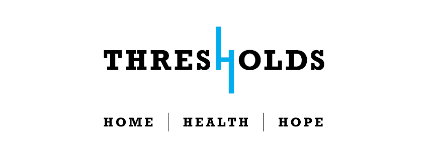 Thresholds logo tagline